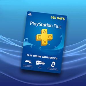 Playstation Plus 365 Days CARD - Carte de jeu
