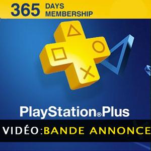 Playstation Plus Carte 365 jours - Bande annonce vidéo
