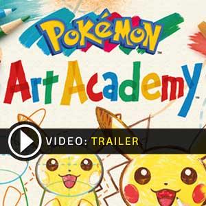Pokemon Art Academy Nintendo 3DS en boîte ou à télécharger