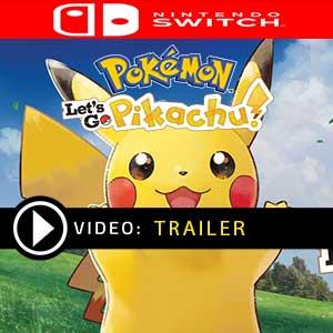 Pokemon Lets Go, Pikachu! Nintendo Switch en boîte ou à télécharger