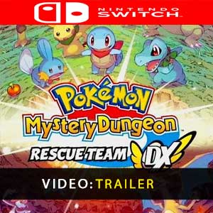 Acheter Pokemon Mystery Dungeon Rescue Team DX Nintendo Switch comparateur prix