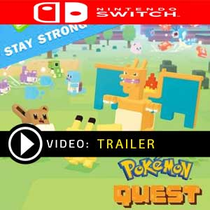 Pokemon Quest Stay Strong Stone