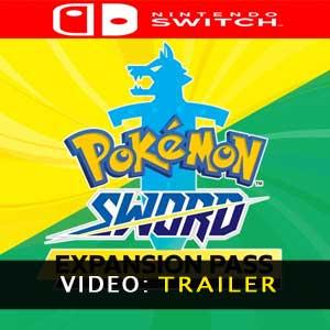 Vidéo de la bande annonce du Pokémon Sword Expansion Pass
