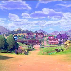 Pokemon Sword Nintendo Switch ville