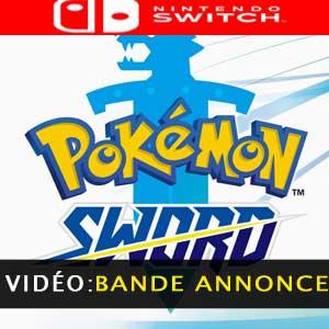 Pokemon Sword Nintendo Switch bande-annonce vidéo