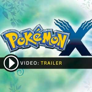 Pokemon X Nintendo 3DS en boîte ou à télécharger