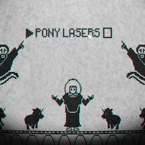 Pony Île lasers