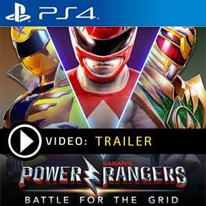 Power Rangers Battle for the Grid PS4 en boîte ou à télécharger