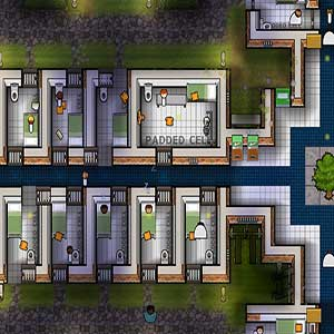 Prison Architect Psych Ward Warden