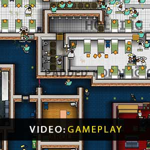 Prison Architect Psych Ward Warden's Edition Gameplay Video