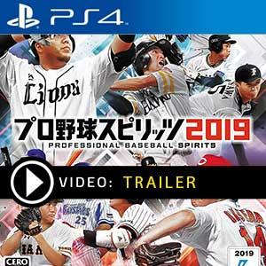Pro Baseball Spirits 2019 PS4 en boîte ou à télécharger