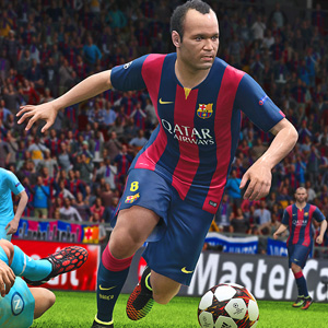 Pro Evolution Soccer 2015 Gameplay