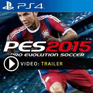 Pro Evolution Soccer 2015 PS4 en boîte ou à télécharger