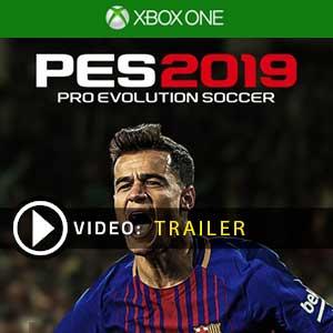 Pro Evolution Soccer 2019 Xbox One en boîte ou à télécharger