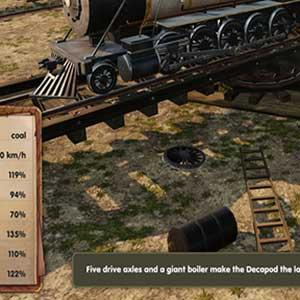Decapod 2-10-0 Locomotive