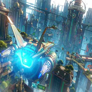 Ratchet and Clank PS4 Metro -Schiff