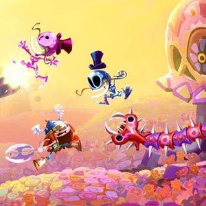 Rayman Legends Gameplay