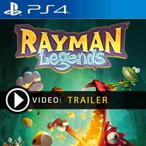 Rayman Legends PS4 en boîte ou à télécharger