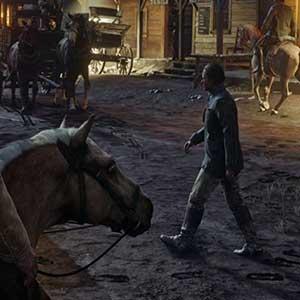 Caméra à la troisième personne de Red Dead Redemption 2