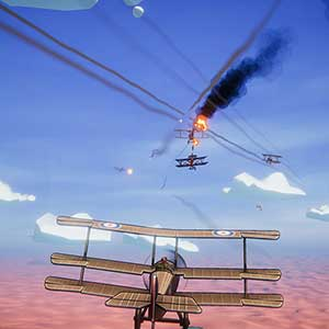 Red Wings Aces of the Sky Combat de chiens