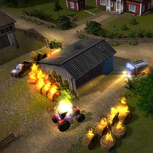 Rescue 2: Everyday Heroes Grange en feu