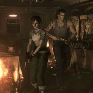 Resident Evil 0 HD Personnages