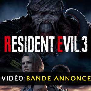 Resident Evil 3 Vidéo de la bande annonce