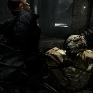 Resident Evil PS4 Combat
