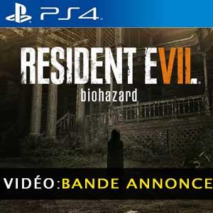 Resident Evil 7 Biohazard PS4 Bande-annonce Vidéo