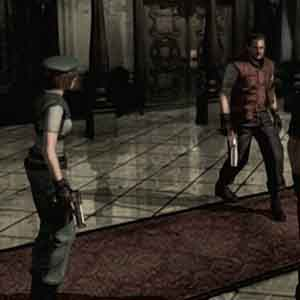 Resident Evil HD Remaster Jill Valentine et Barry Burton