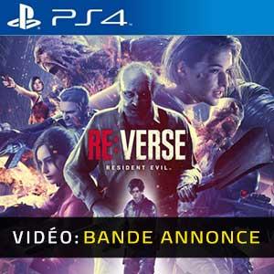 Resident Evil Re:Verse PS4 Bande-annonce vidéo