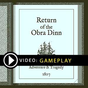 Return of the Obra Dinn Gameplay Video