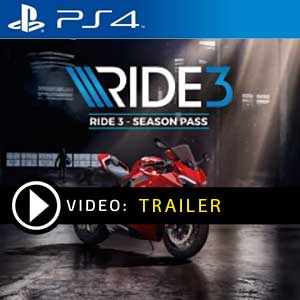 Ride 3 Season Pass PS4 en boîte ou à télécharger