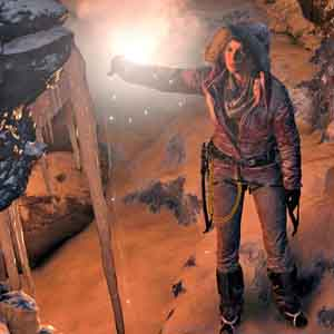 Rise of the Tomb Raider Xbox One - Intérieur de la grotte