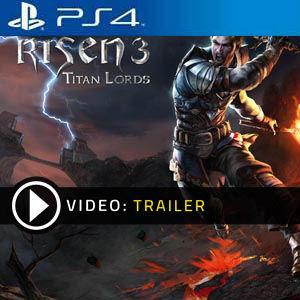Risen 3 Titan Lords PS4 en boîte ou à télécharger