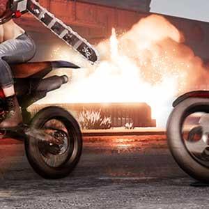 Course de moto Road Rage