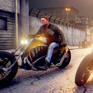 Combat en moto Road Rage