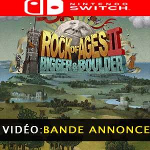 Rock of Ages 2 Bigger & Boulder Nintendo Switch Bande-annonce Vidéo