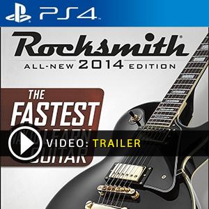 Rocksmith 2014 PS4 en boîte ou à télécharger