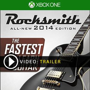 Rocksmith 2014 Xbox One en boîte ou à télécharger