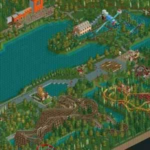 RollerCoaster Tycoon 2 Triple Thrill Pack Jeu de parc d'attraction