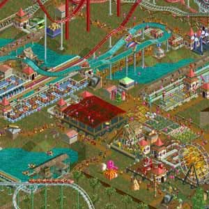 RollerCoaster Tycoon 2 Triple Thrill Pack Parc à thème