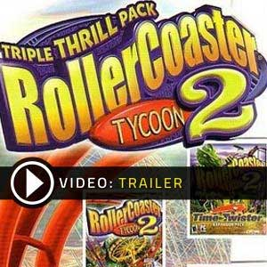 Acheter RollerCoaster Tycoon 2 Triple Thrill Pack Clé Cd Comparateur Prix