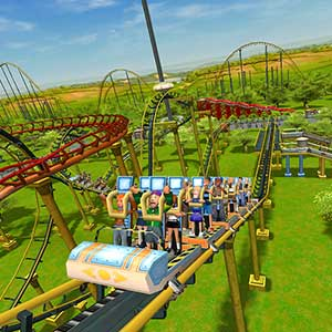 RollerCoaster Tycoon 3 Complete Edition montagnes russes