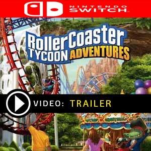 RollerCoaster Tycoon Adventures Nintendo Switch en boîte ou à télécharger