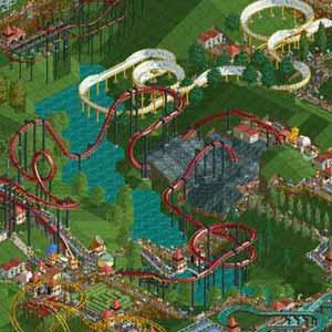Rollercoaster Tycoon Deluxe Rollercoaster