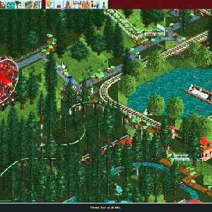Rollercoaster Tycoon Deluxe Parc d'attractions