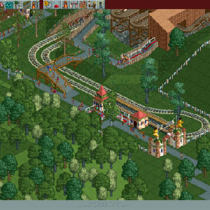 Rollercoaster Tycoon Deluxe Rollercoaster