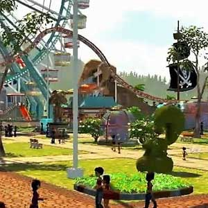 RollerCoaster Tycoon World Gameplay