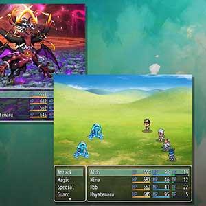 RPG Maker Modes du système de combat